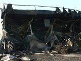 Пожар унищожи зеленчуковата борса край Кърналово