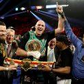 Тайсън Фюри грабна шампионския пояс на Световния боксов съвет/видео/