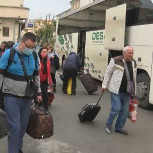 Туроператори настояват да отпаднат PCR тестове за Украйна, първите есенни туристи са в Бургас /снимки/