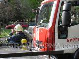 84-годишна жена почина при пожар в айтоско село