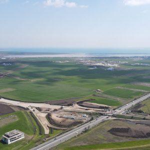 Напредва изграждането на Северния обход на Бургас, вижте откъде ще минава трасето (снимки)