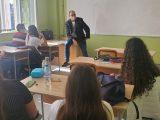 Окръжни и районни магистрати с правни дискусии сред младите хора
