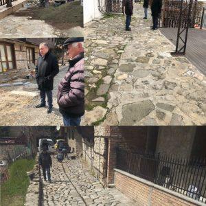 Ремонтират улиците в Стария Несебър ударно преди сезона /снимки/
