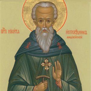 Св. преподобни Никита Изповедник, игумен Мидикийски