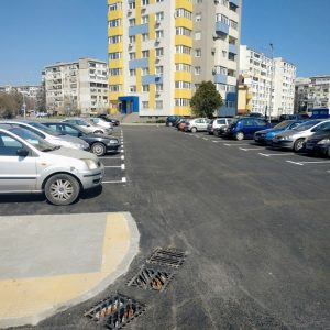 """Това е нов паркинг със 75 места в """"Изгрев"""", около него ще засадят 20 дървета"""
